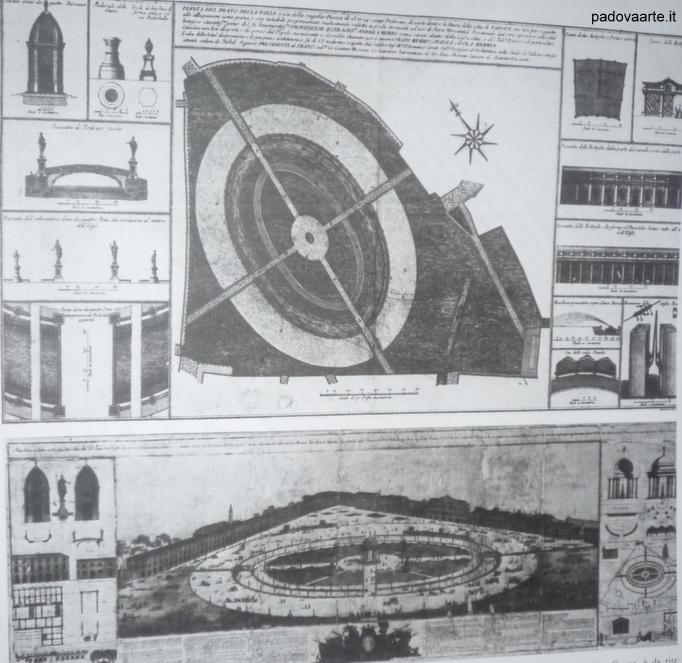Progetto di Andrea Memmo e dell' architetto Domenico