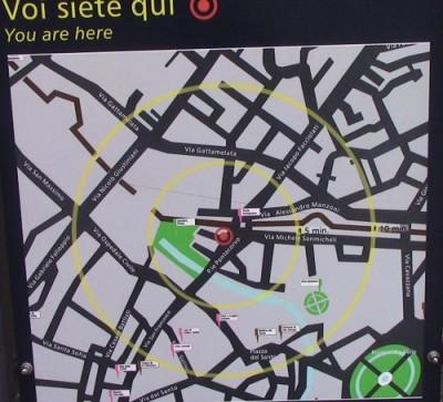 cartina di piazza pontecorvo Padova