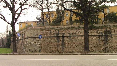 mura che circondano la città di Padova
