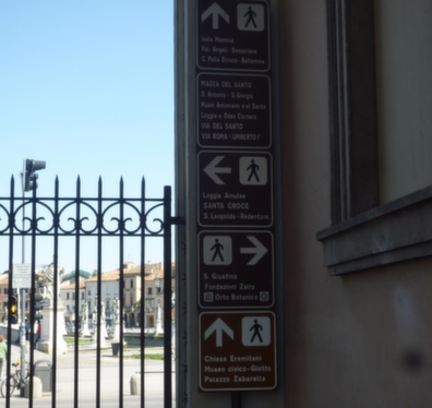 indicazione monumenti