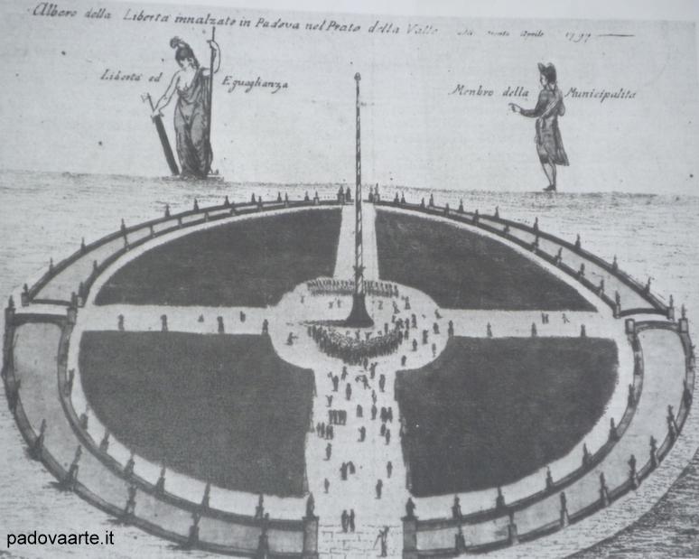 Padova conquistata dai Francesi